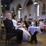mariage église de guilers