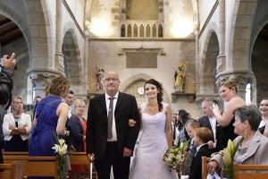 mariage église Bohars