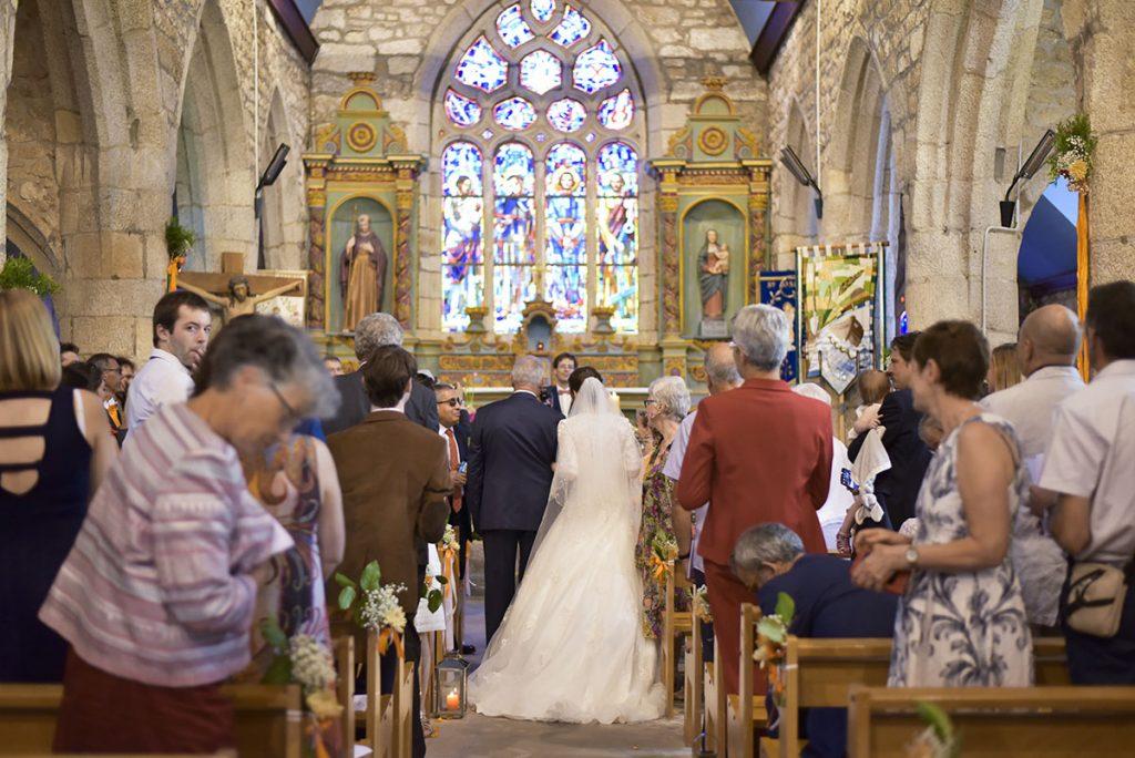 mariage église tregunc