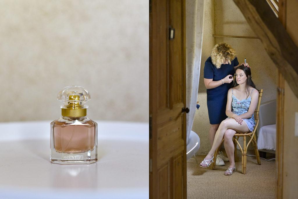 préparatifs mariage photographe